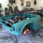 July 20 TR6 Project Photos